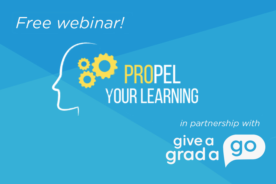 FREE Career Webinar: Propel Your Learning