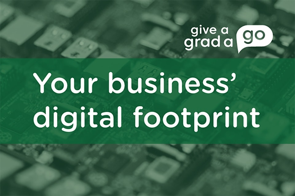 Your business' digital footprint - how to manage your online identity