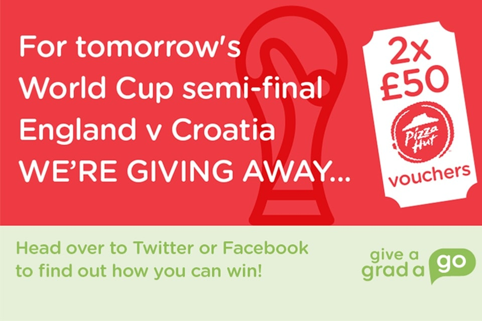 Win FREE PIZZA this World Cup!