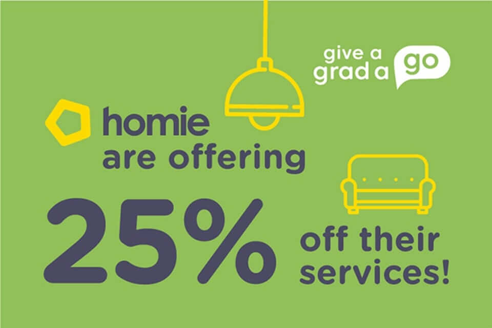 Give A Grad A Go - Exclusive Homie Offer