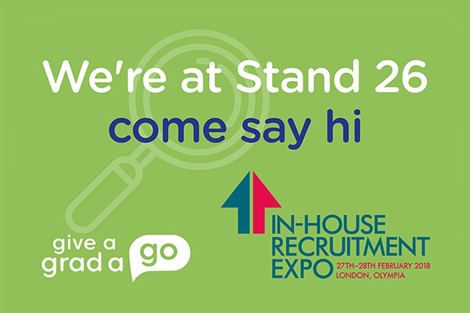 Give A Grad A Go at the In-House Recruitment Expo 2018