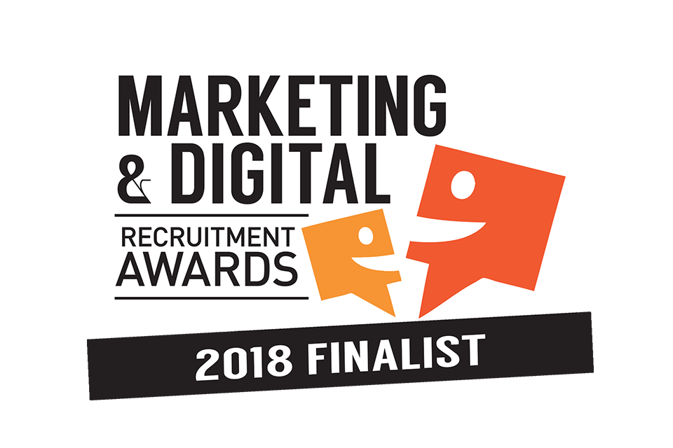 Marketing & Digital Recruitment Awards 2018 - we are finalists!