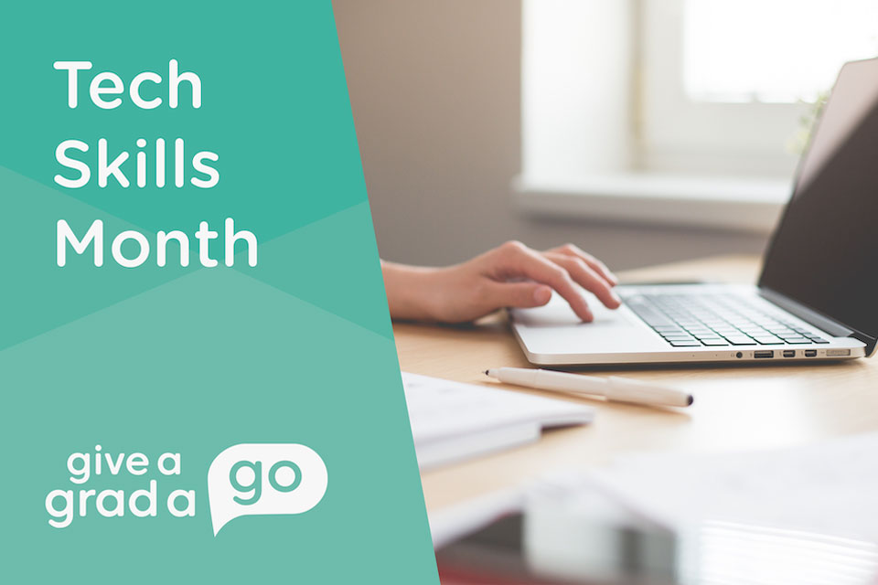 Tech Skills Month at Give A Grad A Go
