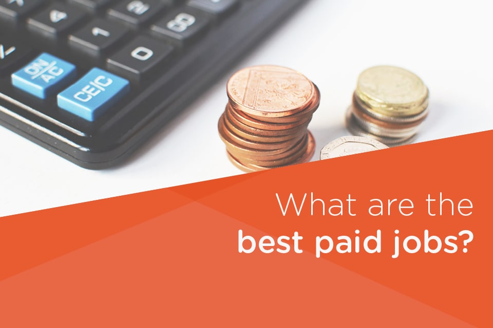 What are the best paid jobs in the UK?