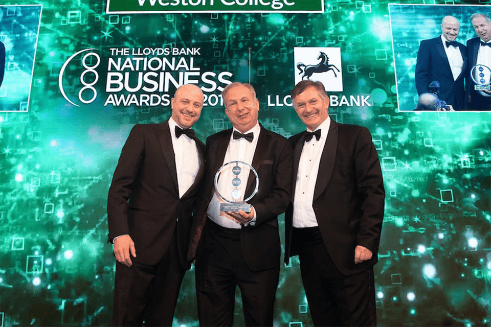 Give A Grad A Go Sponsor the National Business Awards 2020