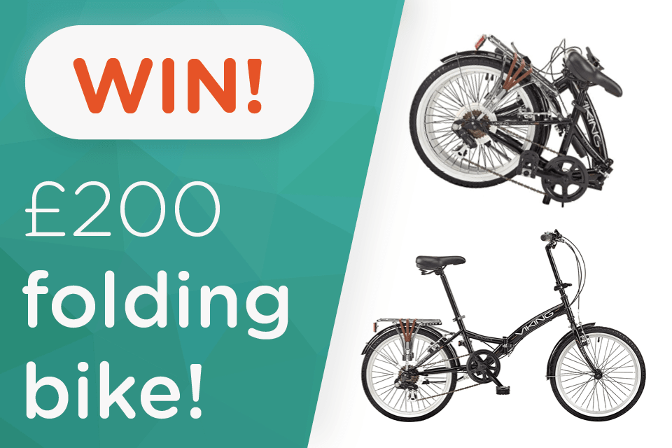 Win a £200 folding bike and start the New Year right!