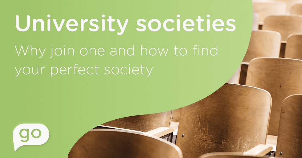 University societies | Why join one and how to find your perfect society