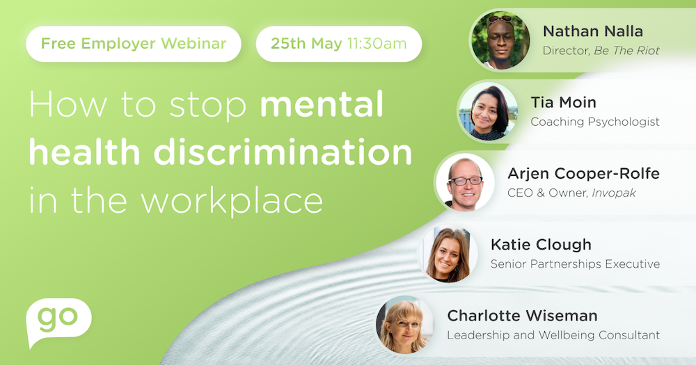 How to stop mental health discrimination at work