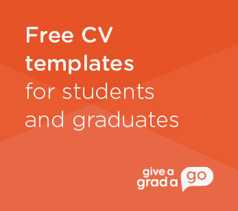 Free CV templates for students and graduates