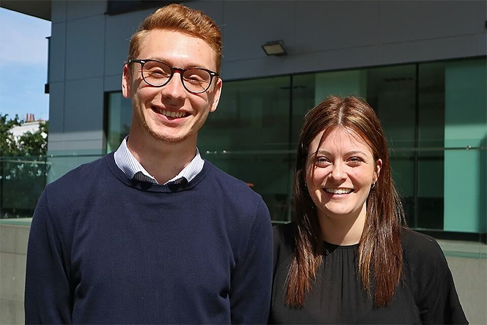 Two Resourcers become Consultants - the start of their careers in graduate recruitment