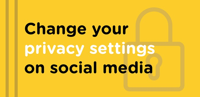privacy settings on social media