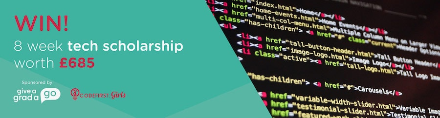 Win 8 week tech scholarship competition